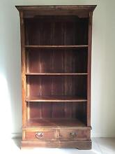 Book shelves - Balinese wood style Northbridge Willoughby Area Preview