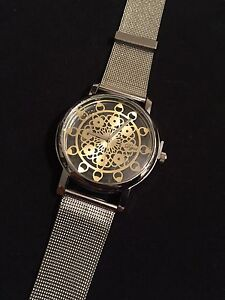 Stainless Steel Vintage Blossom Watch