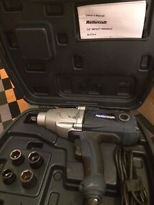 """1/2"""" Impact wrench electric"""