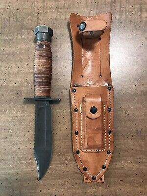Camillus USA Pilot Survival knife Vintage Early