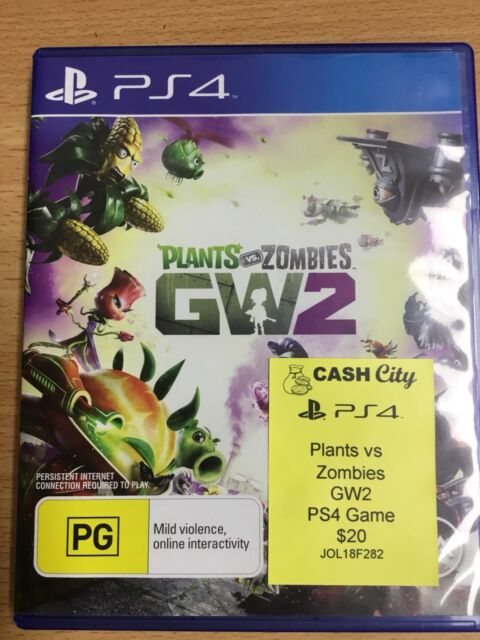Plants vs Zombies GW2 Playstation 4 Game | Playstation