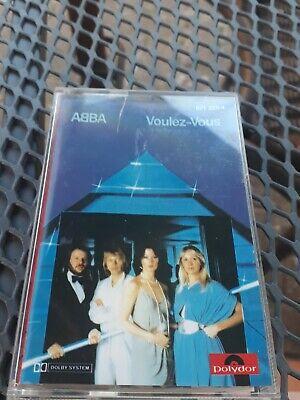 Abba – Voulez-Vous -  Audio Music Cassette Tape 1979