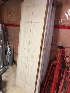6-panel 24x80 bifold door.