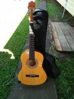 Acoustic Guitar Case Stand Music Instrument Band