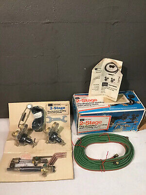 Nos New Vintage Craftsman Usa 2 Stage Oxy Acetylene Welding Cutting Outfit