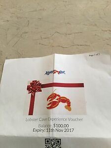 LOBSTER CAVE VOUCHER South Morang Whittlesea Area Preview