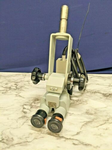 Carl Zeiss Fiber Optic Surgical Microscope F160 Germany f250 T* Lens Binoculars