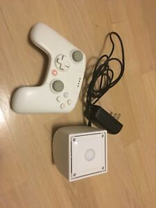 Rare white ouya console with remote for sale, also has black one