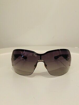 Gucci Brown Shield Sunglasses