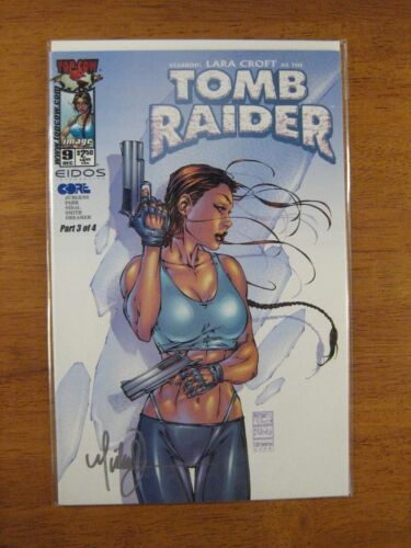Wow! TOMB RAIDER #9 **SIGNED BY MICHAEL TURNER!** COA
