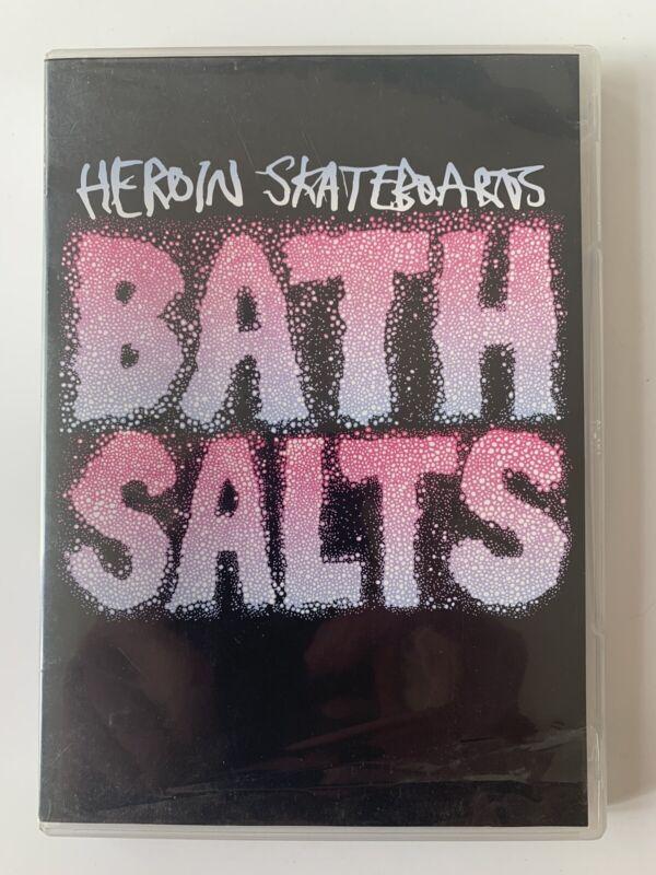 2015 Heroin Skateboards - Bath Salts DVD Skate Video Skateboard