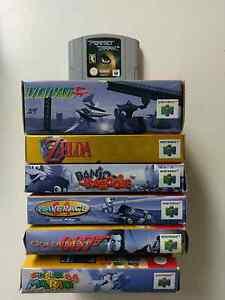 Complete N64 games - Zelda, Banjo, Mario, Lylat - indiv prices Stirling Stirling Area Preview