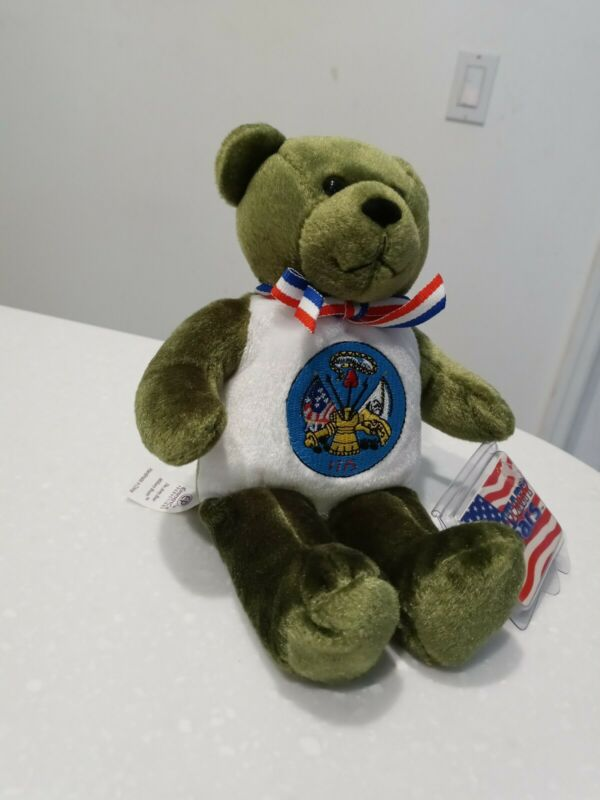 Military Bears US Army EP Eminence Productions Plush Patriotic An Army of One