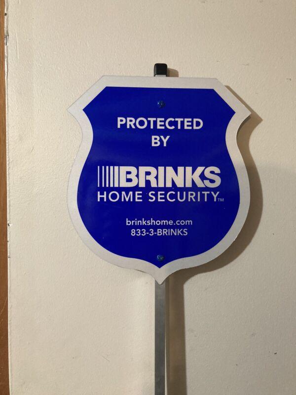 15 Brinks Security signs