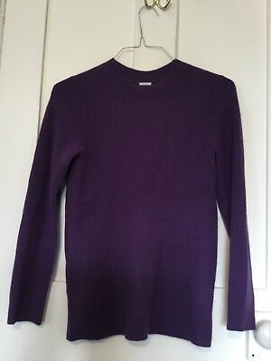 Iris & Ink Cashmere Sweater Size S Purple - Great Condition