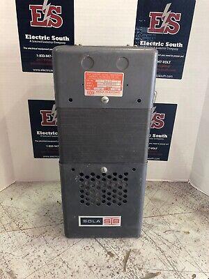 Sola Constant Voltage Transformer Harmonic Neutralized Type Cvs 23-26-210