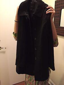 Black aritzia coat