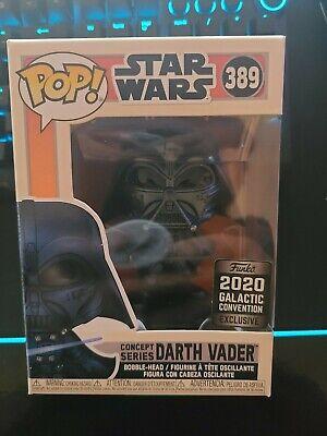 Funko Pop Star Wars Galactic Convention 2020 Concept Darth Vader