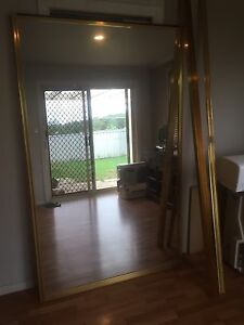 Wardrobe glass sliding doors and tracks Rathmines Lake Macquarie Area Preview