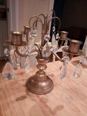Pair of Vintag Brass Candelabra  Brass Candle Sticks  Chinese Candlesticks  Wedding Candelabra  Dragon Candelabra