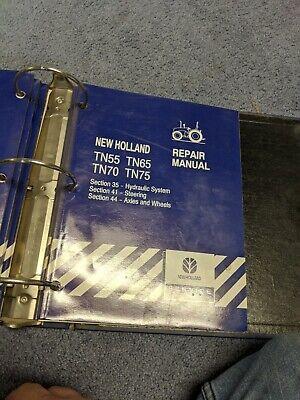 New Holland Repair Manual Tn55 Tn65 Tn70 Tn75 Oem Original