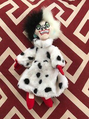 Cruella Deville Fur Coat (Cruella DeVille Walt Disney Store 101 Dalmatians 9