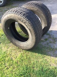 FOR SALE: SET OF WINTER TIRES