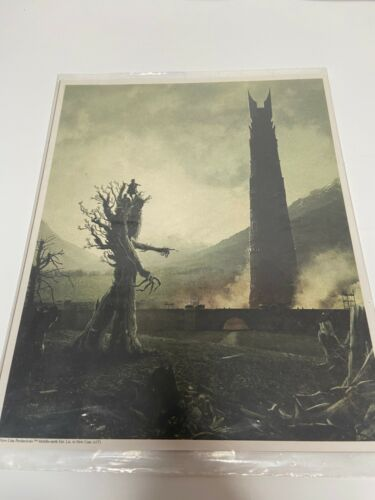 """The Lord of the Rings 8X10 Art Print EXCLUSIVE Aug 2017 """"Kingdom"""" Loot Crate Box"""