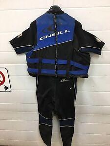 O'Neil Wet suit & Lifejacket (LIFEJACKET SOLD)