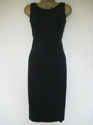 iBlues (Max Mara) charcoal black/dark navy dress size 8