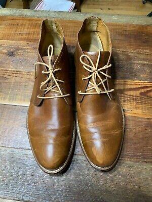 J.Shoes Mens Monarch Plus Brass Premium Leather Short Dress Boots Handcrafted 13