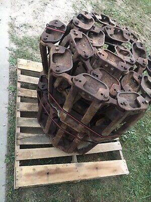 Bobcat Oem Skidsteer Skid Steer Over Tire Metal Steel Tracks