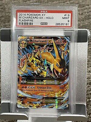 2014 Pokémon M Charizard EX13/106 PSA 9