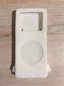 White silicone iPod Nano case, for 1st & 2nd Generation, 2, 4 & 8 GB