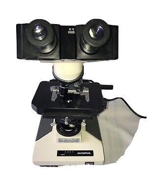 Olympus Bh2 Binocular Microscope With 10x 40x 100x Objectives Bh-2