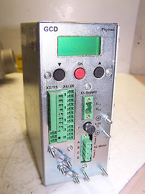 Phytron Gcd 93-70 Thermo Stepper Motor Drive Power Stage Indexer Display