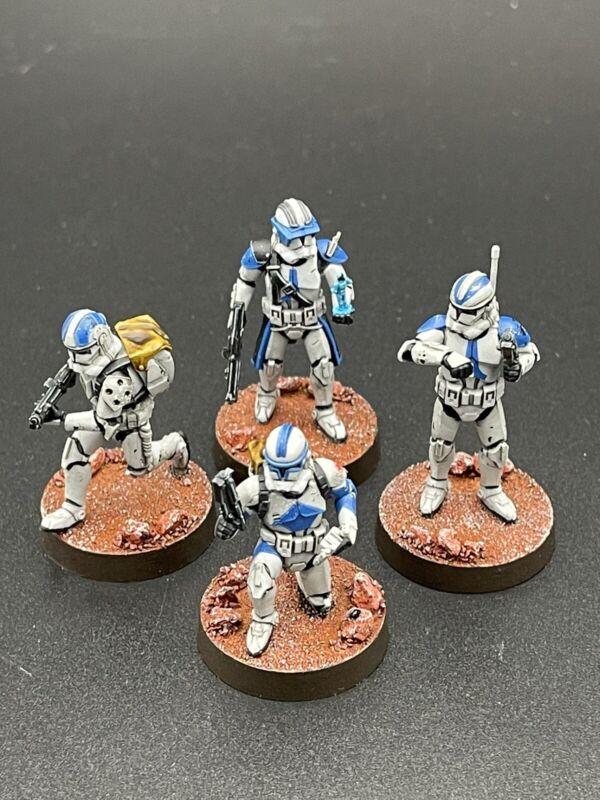 Star Wars Legion Republic Specialists Models Painted
