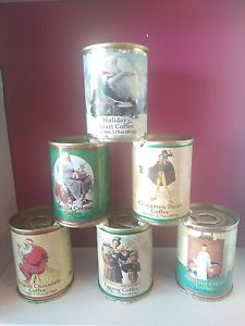 Norman Rockwell Coffee tins Currumbin Gold Coast South Preview