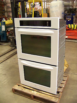"KITCHENAID 30"" ARCHITECT CONVECTION DOUBLE OVEN KEBS208SWH WHITE@ 56% off $3,495"