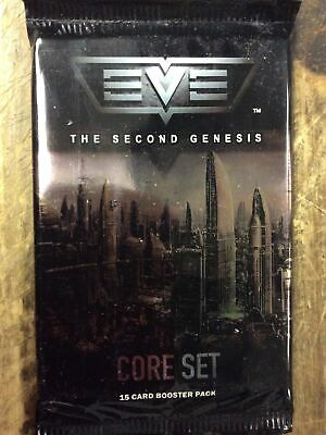 Eve The Second Genesis Core Set 15 Card Booster Pack Ccp New