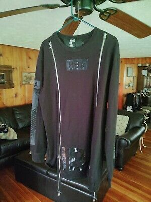 Hood By Air Rare Spinal, H R Giger, Longsleeve Shirt in US Large