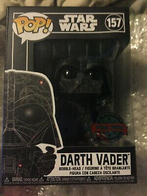 Funko Pop! Star Wars - Darth Vader Futura #157 - Target Exclusive