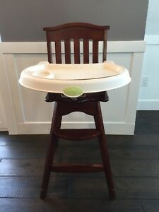 Carter's hardwood high chair