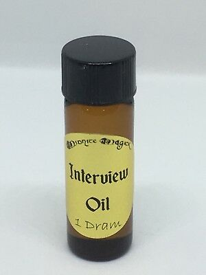 INTERVIEW OIL Wicca Pagan Metaphysical Magic Spell supplies Herbs Kit