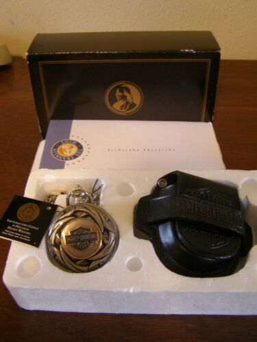 THE FRANKLIN MINT  HARLEY-DAVIDSON  RAW POWER LIGHTNING  COLLECTOR  WATCH
