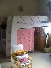 Beautiful single loft bed and matching chest of drawers Clovelly Eastern Suburbs Preview
