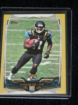 2014 Topps Football Marqise Lee jaquars  Rookie Card Gold Border 1794/2014