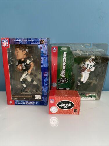 Chad Pennington Lot- Vintage Watch, Bobblehead, Action Figure New York Jets - $59.99