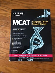 Brand New Kaplan MCAT books