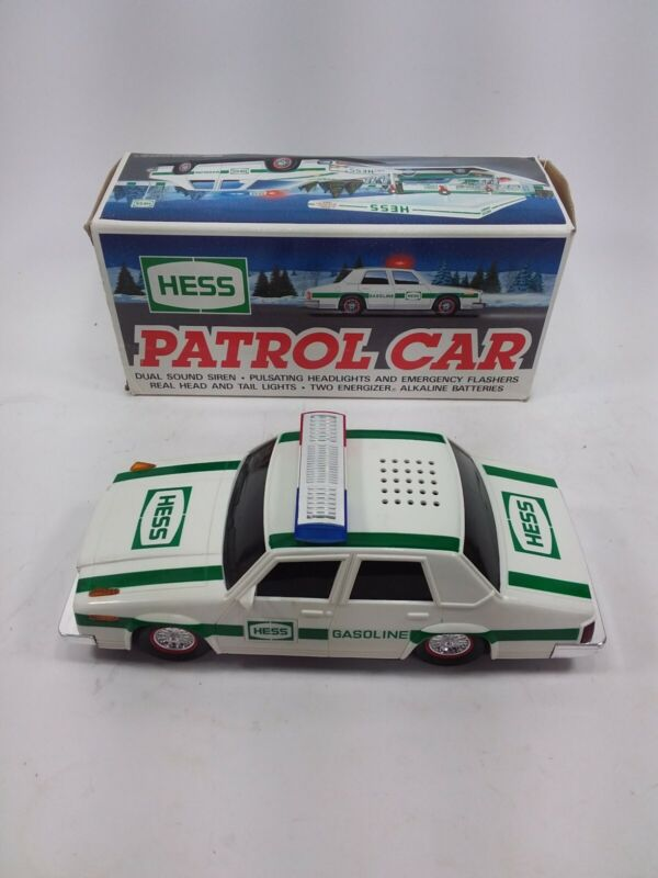 1993 Hess Patrol Car with Original Box            A